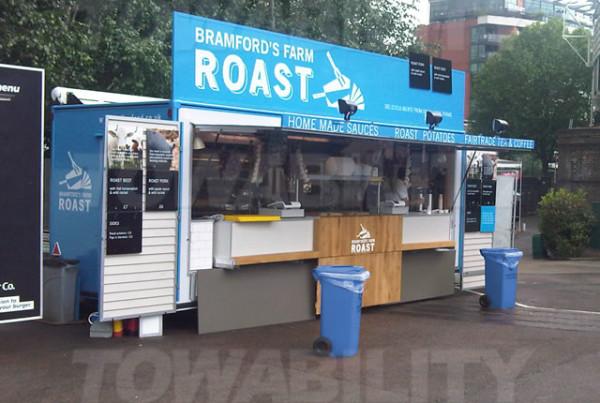 Bramford's Roast Catering Trailer Conversion