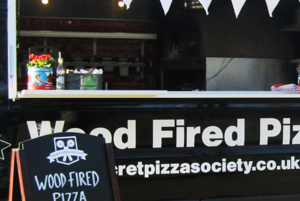 Wood Fired Pizza - Van Conversion