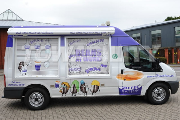 Coffee Van Conversion - Ford Transit
