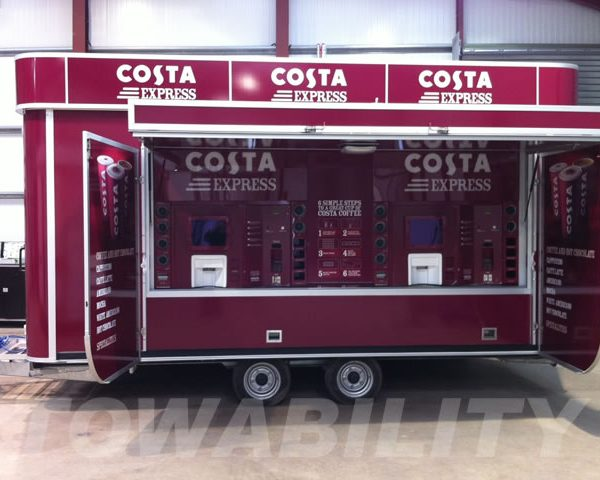 Costa Coffee - Gourmet Coffee Mobile Catering Trailer