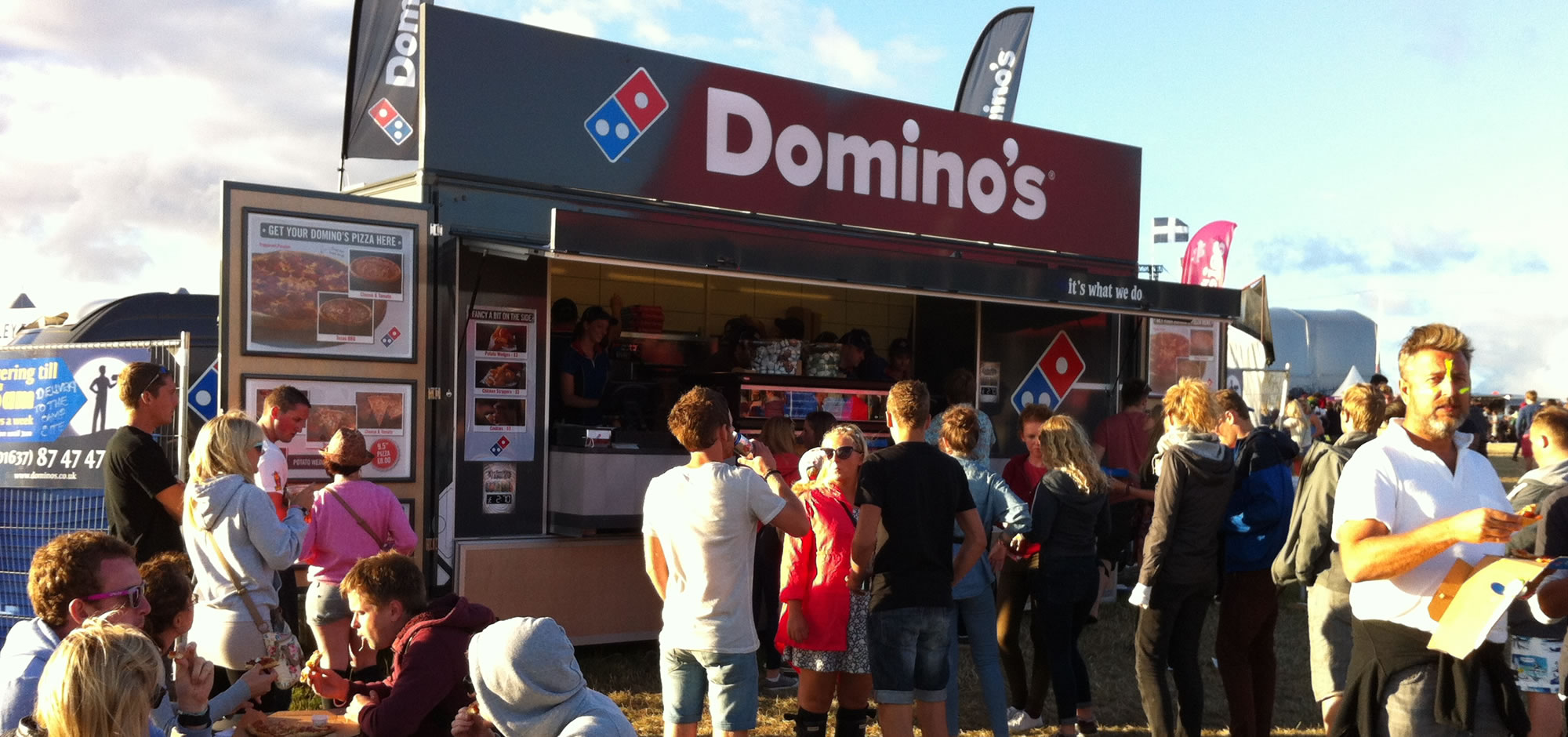 Working with Domino's Pizza UK | Towability Catering