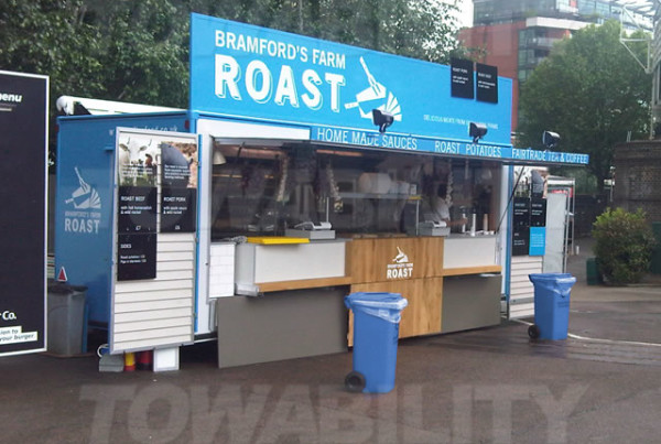 Bramford's Roast Catering Trailer Conversion