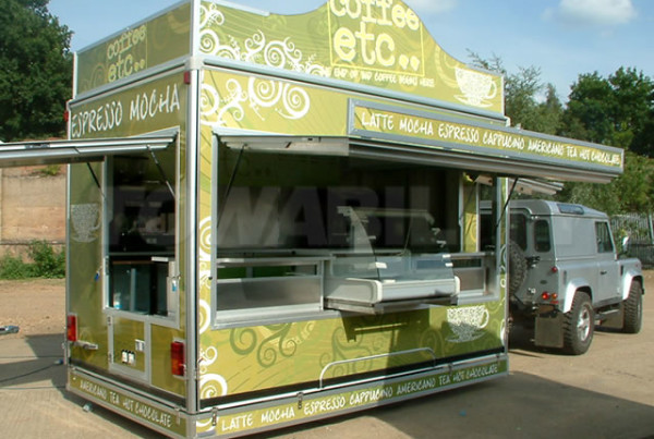 Coffee Etc Catering Trailer