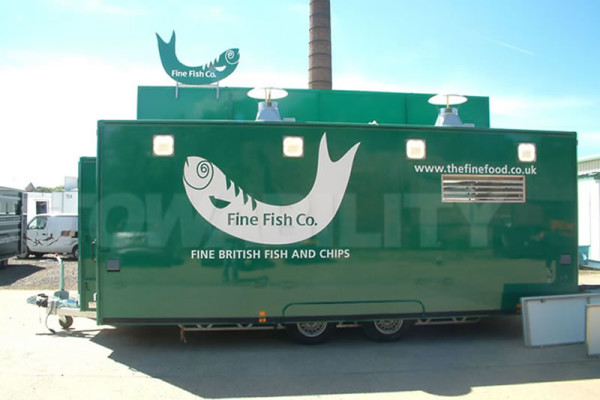 Fish and Chips Catering Trailer