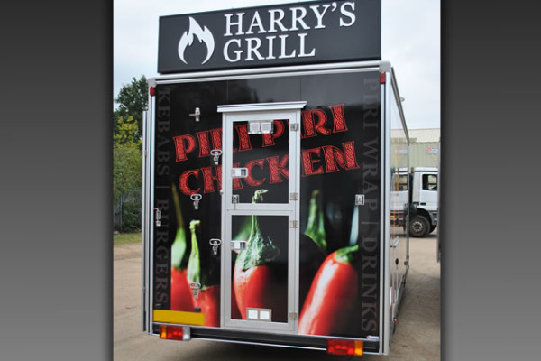 Harry's Grill - Piri Piri Chicken and Kebab Van
