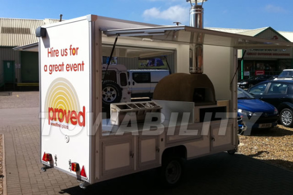Street Food Pizza Catering Trailer