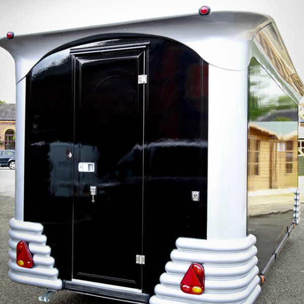 Star Stream American Diner Style Food Trailer by Towability