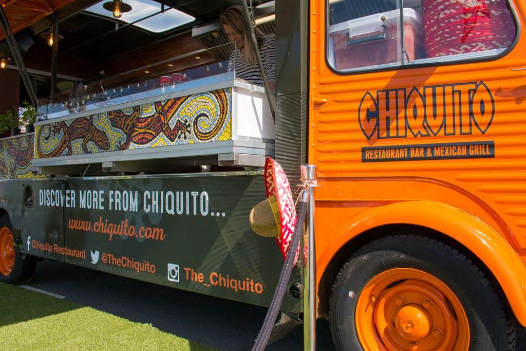 Chiquito Restaurant Bar & Mexican Grill – H-Van Conversion Mexican Street Food